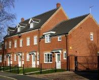Casas de cidade Imagem de Stock Royalty Free