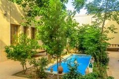 Casas de cidade velhas 03 de Yazd imagens de stock