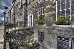 Casas de Edimburgo Imagen de archivo libre de regalías