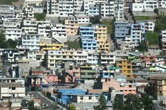 Casas de Equador Fotografia de Stock Royalty Free