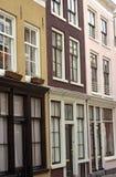 Casas de fileira urbanas Foto de Stock Royalty Free