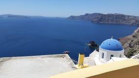 Casas de Grécia Imagens de Stock Royalty Free