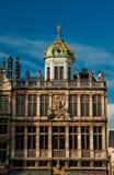 Casas de Grand Place famoso Imagem de Stock Royalty Free