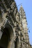 Casas de Grand Place famoso en Bruselas Imagen de archivo