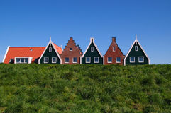 Casas de Holland imagem de stock royalty free