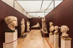 Casas de la arqueología Museum Imagen de archivo