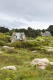 Casas de la cabaña, casa de campo Imagenes de archivo