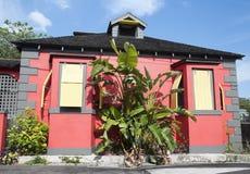 Casas de la ciudad de Nassau fotos de archivo libres de regalías
