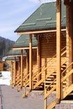 Casas de la madera fotos de archivo libres de regalías