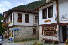 Casas de la montaña Imagen de archivo libre de regalías