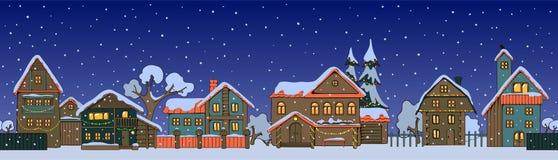 Casas de la Navidad Imágenes de archivo libres de regalías