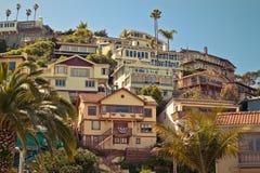 Casas de la playa Imágenes de archivo libres de regalías