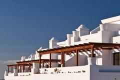 Casas de la terraza. imagen de archivo