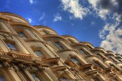 Casas de la terraza de Londres Foto de archivo libre de regalías