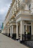 Casas de la terraza en Londres Foto de archivo libre de regalías