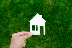 Casas de las propiedades inmobiliarias?, planos para la venta o para el alquiler Imagen de archivo
