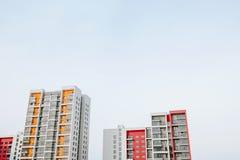 Casas de las propiedades inmobiliarias?, planos para la venta o para el alquiler Fotografía de archivo
