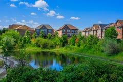 Casas de lujo canadienses en Toronto Imagen de archivo libre de regalías
