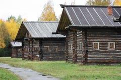 Casas de madeira Imagens de Stock Royalty Free