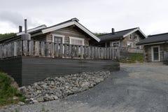 Casas de madeira em Finlandia Imagem de Stock Royalty Free