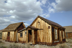 Casas de madera Imágenes de archivo libres de regalías