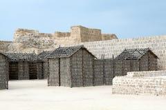 Casas de madera fotografía de archivo libre de regalías