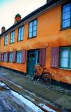 Casas de Marins en Copenhague Fotos de archivo libres de regalías