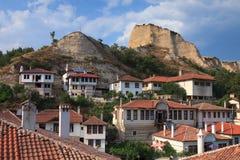 Casas de Melnik Imagen de archivo