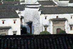 Casas de moradia locais do estilo do chinês Foto de Stock Royalty Free