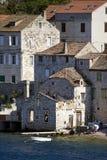 Casas no mar foto de stock royalty free