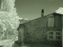 Casas de piedra en los pueblos de Turquía fotografía de archivo libre de regalías
