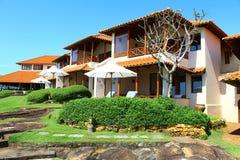 Casas de planta baja de los cuartos en Saman Villas, Sri Lanka Imagen de archivo