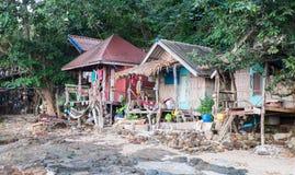 Casas de planta baja del hippy Imagen de archivo libre de regalías