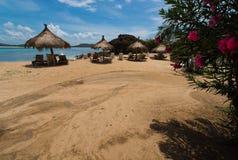 Casas de playa Imagen de archivo libre de regalías