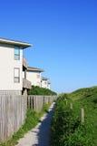 Casas de playa Imagenes de archivo
