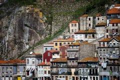 Casas de Porto imagem de stock royalty free