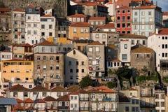 Casas de Porto em Portugal Foto de Stock Royalty Free