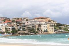 Casas de praia 1 de Bondi Foto de Stock