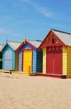 Casas de praia Imagem de Stock