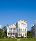 Casas de praia Fotografia de Stock