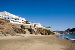 Casas de praia foto de stock