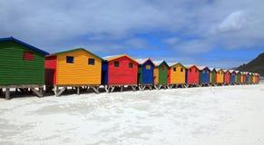 Casas de praia fotografia de stock royalty free
