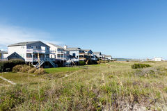 Casas de praia Imagem de Stock Royalty Free