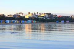 Casas de praia e HOME do feriado Fotografia de Stock Royalty Free