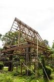 Casas de quadro de madeira Tailândia. Imagens de Stock