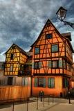 Casas de quadro HDR Imagens de Stock Royalty Free