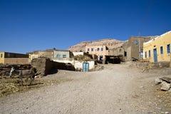 Casas de Qurna Imagens de Stock Royalty Free