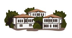 Casas de Safranbolu Imagen de archivo libre de regalías