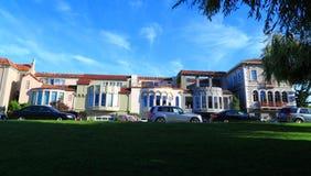 Casas de San Francisco imagen de archivo libre de regalías