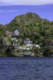 Casas de St John, Terra Nova Imagens de Stock